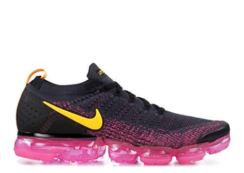 Nike Air Vapormax Flyknit 2, Gridiron/Laser Orange, 11.5 2