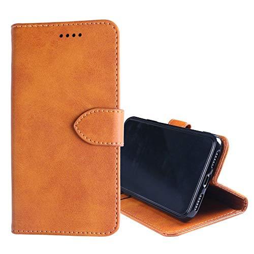 NEKOYA Ulefone Power 2 Hülle,Ulefone Power 2 Lederhülle,Handyhülle im Brieftasche-Stil für Ulefone Power 2. Schutzhülle mit [Minimalistisches][Standfunktion][Kartenfach][Magnetverschluss]