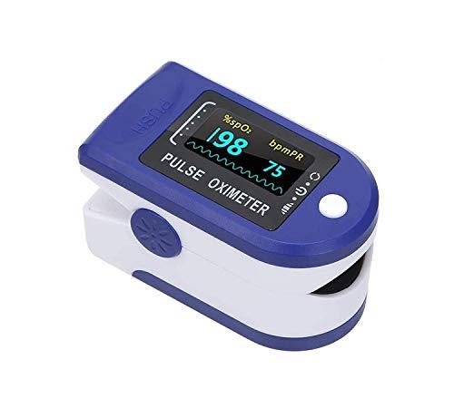 Homesoul Finger Tip Pulse Oximeter Oxygard Digital LED Heart Rate Monitor Oximeter, Blue
