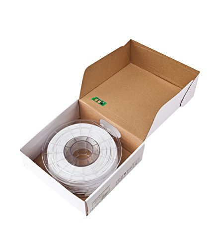 Sindoh - 3DP200PWH-R 3DWOX Refill Filament PLA White (Compatible with DP200, DP201, 3DWOX 1, 1X, 2X) , Spool , 1.75 millimeters Diameter