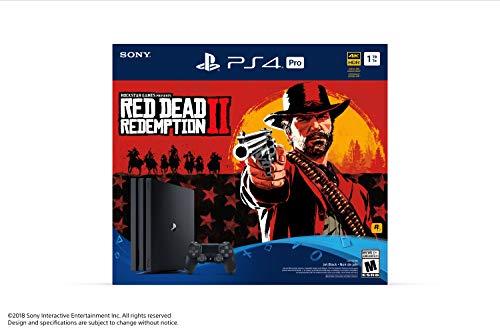 Console PlayStation Ensemble PS4 Pro du jeu Red Dead Redemption 2 - 3