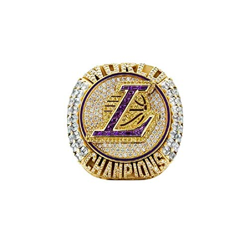 2020 LAL Basketball Champion Rings Replica Official Version for Sports Fans Gift-Lakers_#10with_box