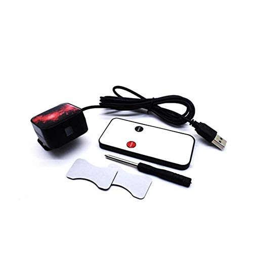 LICHONGUI K5 / k6 drehbare Auto Innenraum atmosphäre sternlichter Dach deckende Dekoration licht 5 v USB rote laserprojektionslampe mit Fernbedienung (Color : with Remote)
