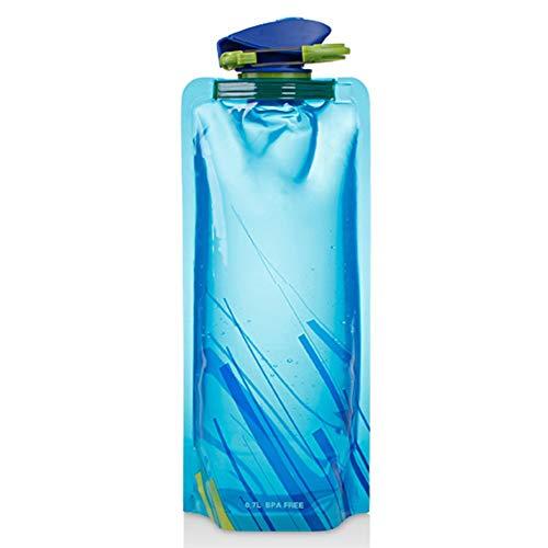 Portátil 1L Plegable Plegable Al Aire Libre Plástico Ligero Botella de Agua...