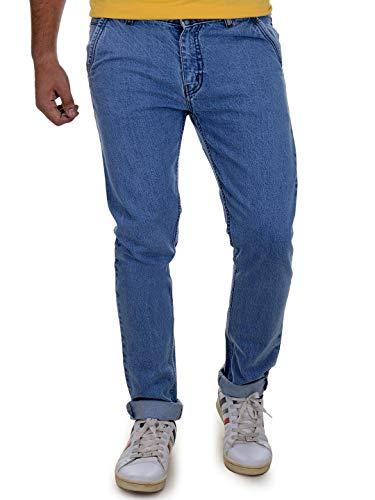 Ben Martin Men's Regular Fit Jeans (BMW7-JJ-9-LB_34-01_Blue_34)