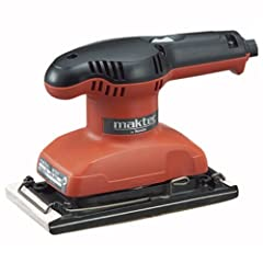 Comfortable gripping and lightweight. Ergonomic handle design for operator comfort and control. Large clamping lever for quick and easy changing of sanding paper. 6 MONTHS WARRANTY AGAINST MANUFACTURING DEFECT