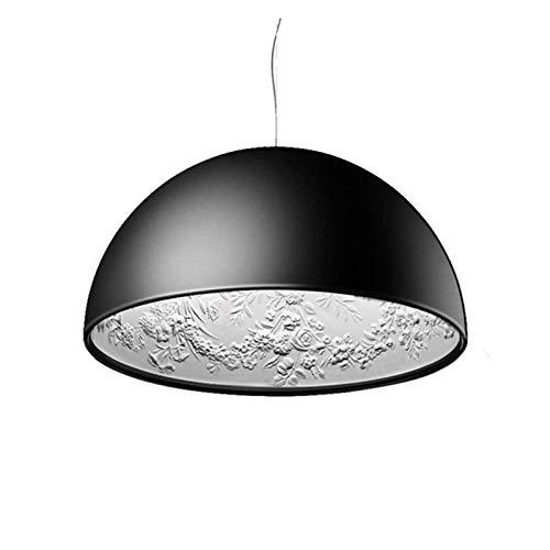 RongWang Italienischer Kronleuchter Für Wohnzimmer Schlafzimmer Küche Designer Vintage Loft Kronleuchter Licht (Color : Matte Black Not with Bulb, Size : B)