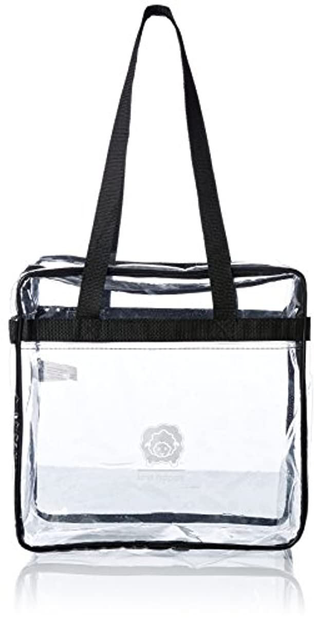 K1C2 Knit Happy Tote, 12 by 12 by 6-Inch, Clear
