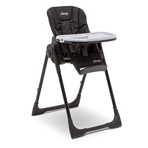 Best Review Of Jeep Classic Convertible High Chair for Babies and Toddlers, Midnight Black