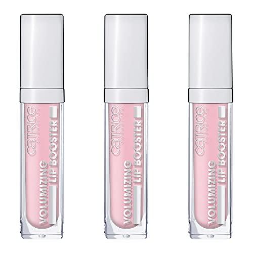 Catrice Volumizing Lip Booster, Lipgloss, Lip Gloss, Nr. 010 SomeBARE Over The Rainbow, nude, feuchtigkeitsspendend, scheinend, vegan, ohne Parfüm, 3er Pack (3 x 5ml)