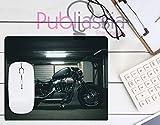 Publiassia Stamperia Harley Davidson 2 Mousepad Tappetino per Mouse Moto Idea Regalo Motor Motorcyclist Computer Tastiera Ufficio Gadget Lavoro Nerd Accessori pc Biker Accessori Moto Motociclisti