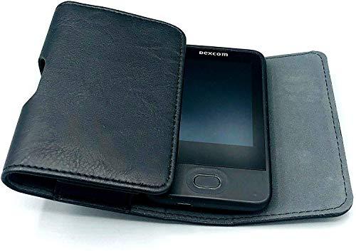 SEWAS Diabetic Care, Tasche für das DEXCOM G6, Gürteltasche Blutzuckermessgerät, Diabetikertasche, Schutzcase Schwarz
