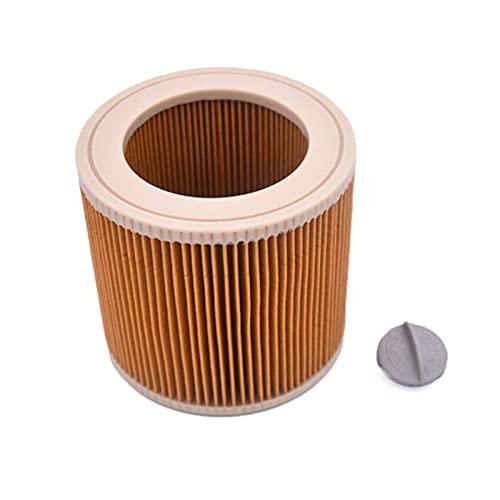 XINYE wuxinye 1 unids Polvo Filtros HEPA + 3pcs Bolsas de Papel Ajuste para Karcher Aspiradoras de vacío Partes Cartucho HEPA Filtro A2204 VC6100 A2004 WD3.200 VC6200