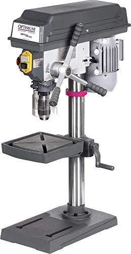 Optimum Tischbohrmaschine OPTIdrill B 17PRO basic (mit Bohrtisch neigbar, Bohrtiefenanschlag, Drehzahlbereich 680-2700 mm-1, Bohrmaschine) 3003161
