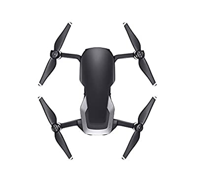 DJI Mavic Air - Drone with 4K Full-HD Video, Spherical Panoramic Images from 32 MP and Transmission Range Up to 4 km, Foldable - Black
