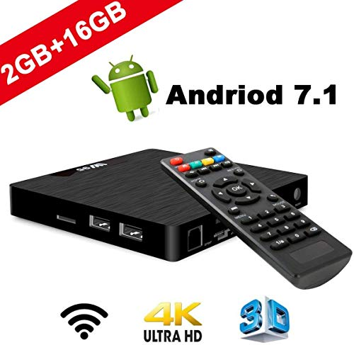 DOOK H96 Max TV Box Android 7.1 2GB RAM/16GB, Penta-Core Mali-450 Up to 750Mhz+, Amlogic S905W Quad-core 64-bit ARM Cortex-A53,H.265 Decoding 2.4GHz WiFi,Smart Android Box
