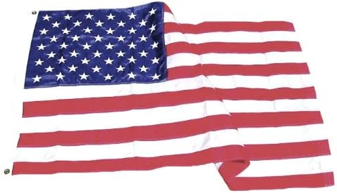 Amazon Com Eder Flag Poly Max Outdoor U S Flag Proudly Made In The Usa Extremely Durable Reinforced Fly Stitching Heavy Duty Duck Cloth Headers Quality Craftsmanship 6x10 Foot