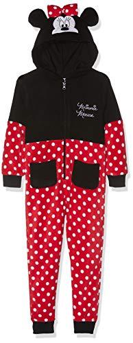 Disney Minnie Disney Minnie Mädchen Jumpsuit 3713, Rot Rouge, 2 Jahre (92)