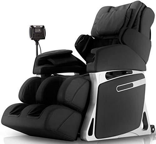 Fujiiryoki FJ-4800BLACK Model FJ-4800 Dr. Fuji Cyber-Relax Massage Chair, Black, Swing Massage On Neck, Shoulder Massage, Wait Massage, Shiatsu, Air Bag & Vibration Massage On Buttocks