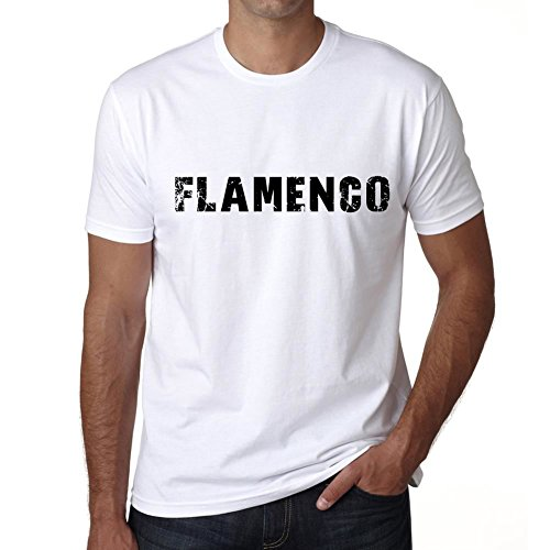 One in the City Hombre Camiseta Vintage T-Shirt Flamenco