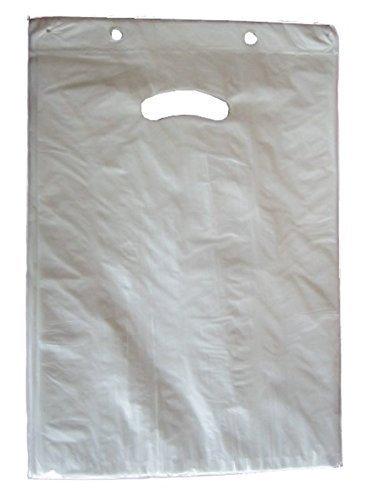 Tragetaschen HDPE 240x 350+ 30mm bloque borde blanco 14My Shopper Bolsas desechables bolsillos Tragetaschen Bolsa Grif Flo chtragetaschen