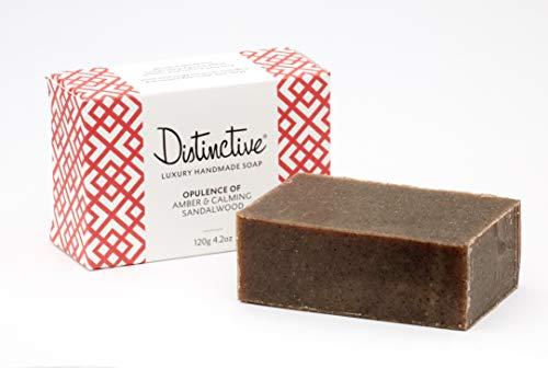 Handgemachte Luxus Seife - Opulenz aus Amber und beruhigendem Sandelholz