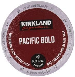 Kirkland Pacific Bold Coffee Pods K-Cups 25 Count/Pods (50)
