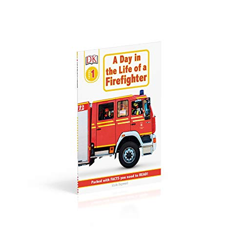 DK Readers: Jobs People Do -- A Day in a Life of a Firefighter (Level 1: Beginning to Read) (DK Readers Level 1)