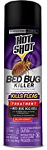 Hot Shot Bed Bug Killer 17.5 Ounces, Aerosol, Treatment For Bed Bugs, White