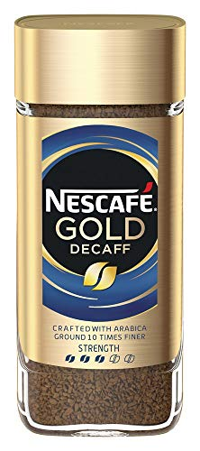 Nescafe Gold Decaff Instant Coffee Jar, 100 g
