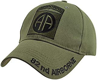 Medals of America 82nd Airborne Ball Cap OD OD Green One Size