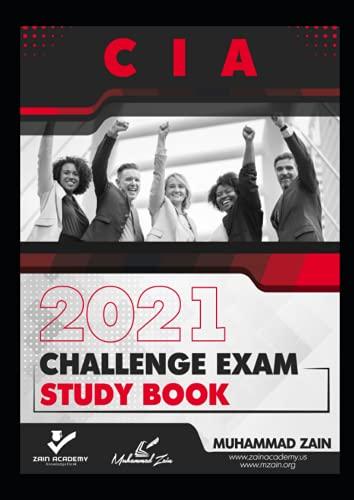 CIA Challenge Exam - Study Book - 2021