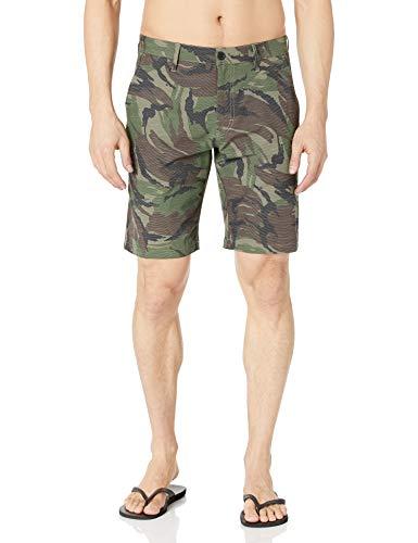 RVCA mens Balance Hybrid Casual Shorts, Camo, 38 US