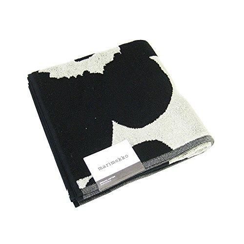 マリメッコ marimekko バスタオル 63630-980 UNIKKO ブラック サンド (37907891) [並行輸入品]
