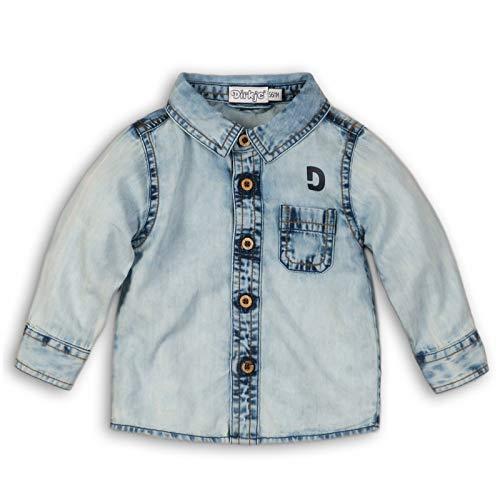 DIRKJE Chemise bébé garçon en Jeans - Bleu - 36 Mois