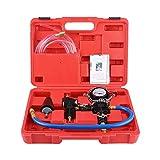 Longzhou Sistema de refrigerante del Coche Kit de Herramientas de Purga de vacío y Recarga de refrigerante del radiador Cambiador de anticongelante de Agua