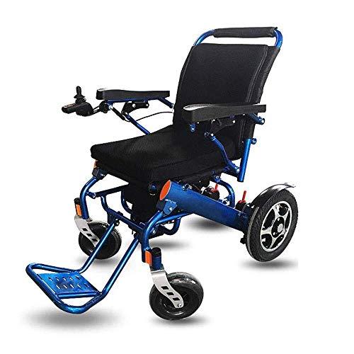 WANG XIN Elektrisch angetriebener Rollstuhl, zusammenklappbar, leicht, 50 lbs, stark und langlebig for den Gebrauch, motorisierte Rollstühle, bequem for den Gebrauch zu Hause und im Freien