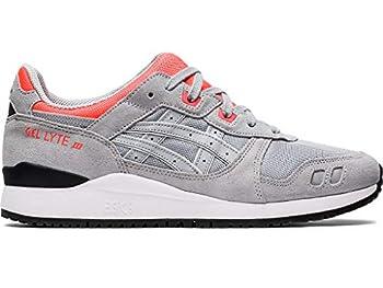 ASICS Men s Gel-Lyte III OG Shoes 10.5 Piedmont Grey/Piedmont Grey/Pink