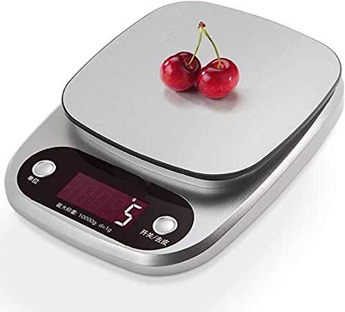 RVS Schaal van de Keuken Digital Scale, Keuken Schaal Eten Schaal kruiden medische elektronische weegschaal High Precision