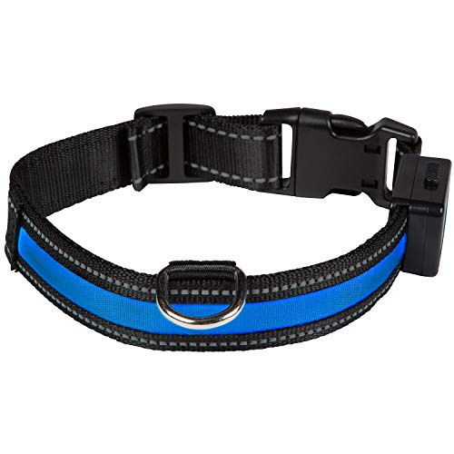 Num'axes 01830608 Collar Eyenimal con USB Azul - M