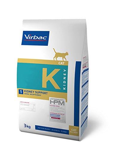Virbac Veterinary HPM Cat Kidney Futter für Katzen, 3 kg, Größe M