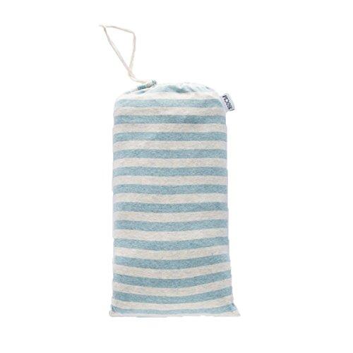 Xin.S Tricoté Sacs De Couchage De Voyage De Coton Portable Draps De Voyage Adulte De Coton Sacs De Couchage De Dormeur D'hôtel Multi-couleur,Blue-210*160cm