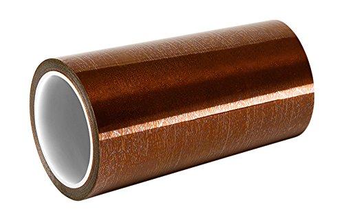 Tapecase b-5'x 4,6m Amber Polyimide/silicone, nastro adesivo in silicone, 6800resistenza tensione, 1mil, 4,6m. Lunghezza, 12,7cm larghezza
