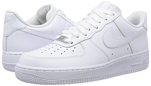 Nike Men's Air Force 1'07 Shoes 315122 White/White 10.5