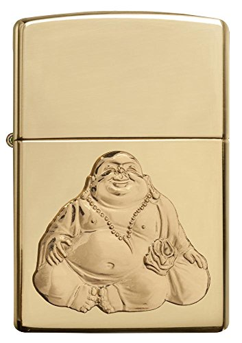 Zippo Personalized Message Engraved on Backside Customized Buddha Windproof Lighter (Buddha5)