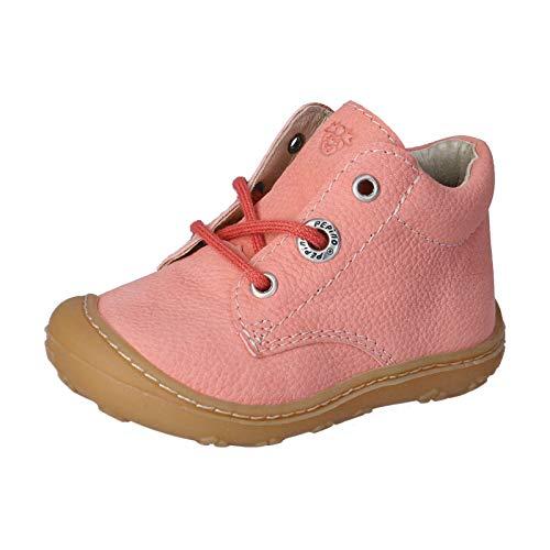 RICOSTA Kinder Boots Cory von Pepino, Weite: Mittel (WMS),lose Einlage,terracare,schnürstiefelchen,flexibel,Strawberry (333),22 EU / 5 Child UK