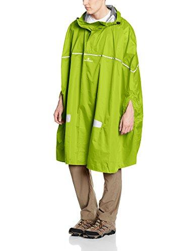 Ferrino Dryride, Mantella Impermeabile Unisex, Verde