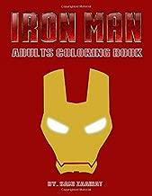 Iron man: Adults coloring book