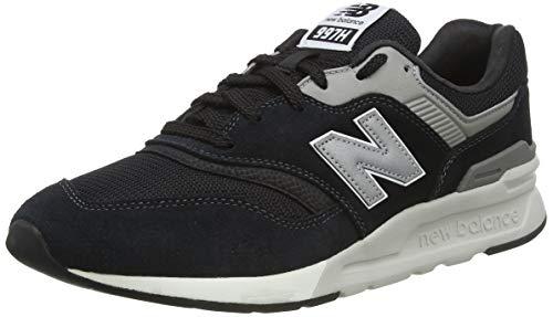 New Balance 997H Core, Sneaker Uomo, Nero (Black/Silver Charcoal), 42 EU