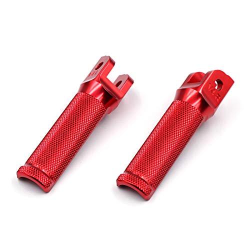 Motocicleta Reposapiés Reposapiés para Motociclista reposapiés Delanteros reposapiés para D&ucati P&anigale V4 1100 / S/R 899959 1199 1299 / S/R (Color : Rojo)